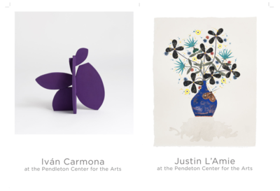 Iván Carmona and Justin L'Amie Pendleton Center for the Arts