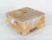 Red Gold and Mother of Pearl Box